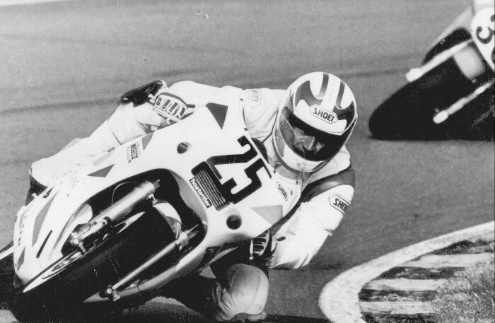 Claudio Biesele, Superbike WC, Assen/NL 1988
