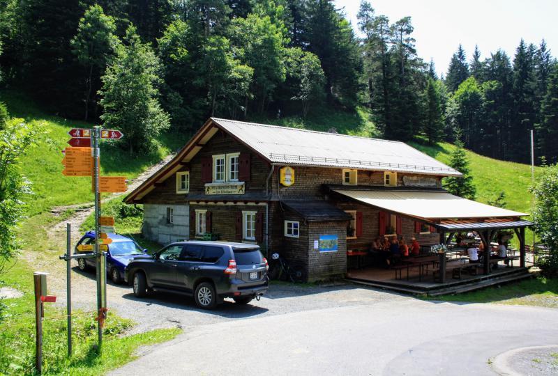 Restaurant Gätterlipass am gleichnamigen Pass
