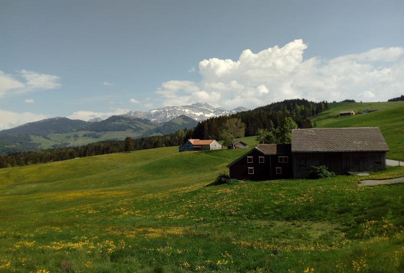 St. Galler Idylle in der Nähe von Hemberg