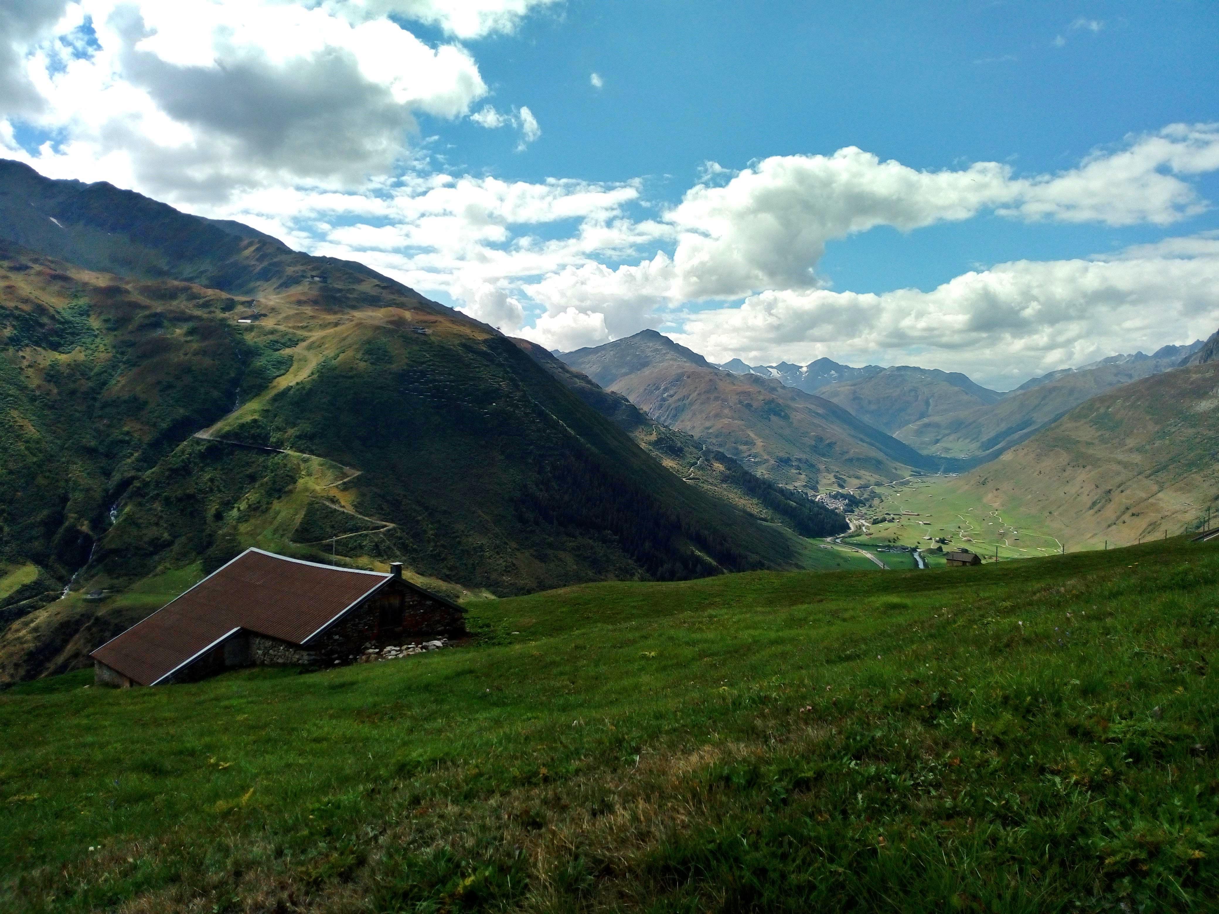 Landschaftliche Idylle am Oberalppass