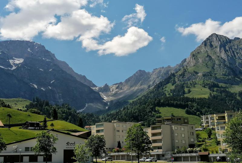 Engelberg - die moderne Kleinstadt in den Bergen
