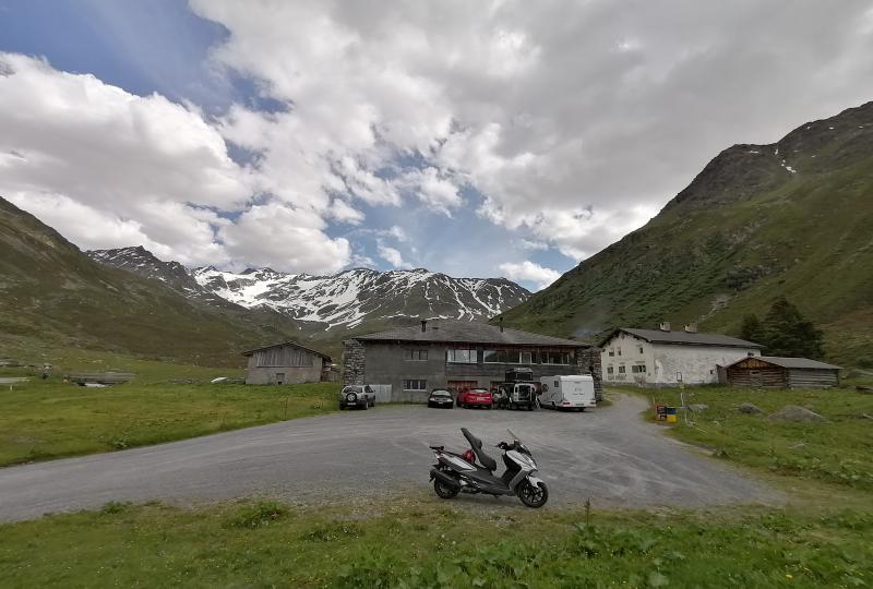 Dischmatal: Berggasthaus Dürrboden