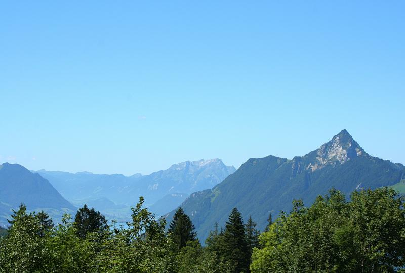 Ibergeregg: Aussicht Richtung Brunnen