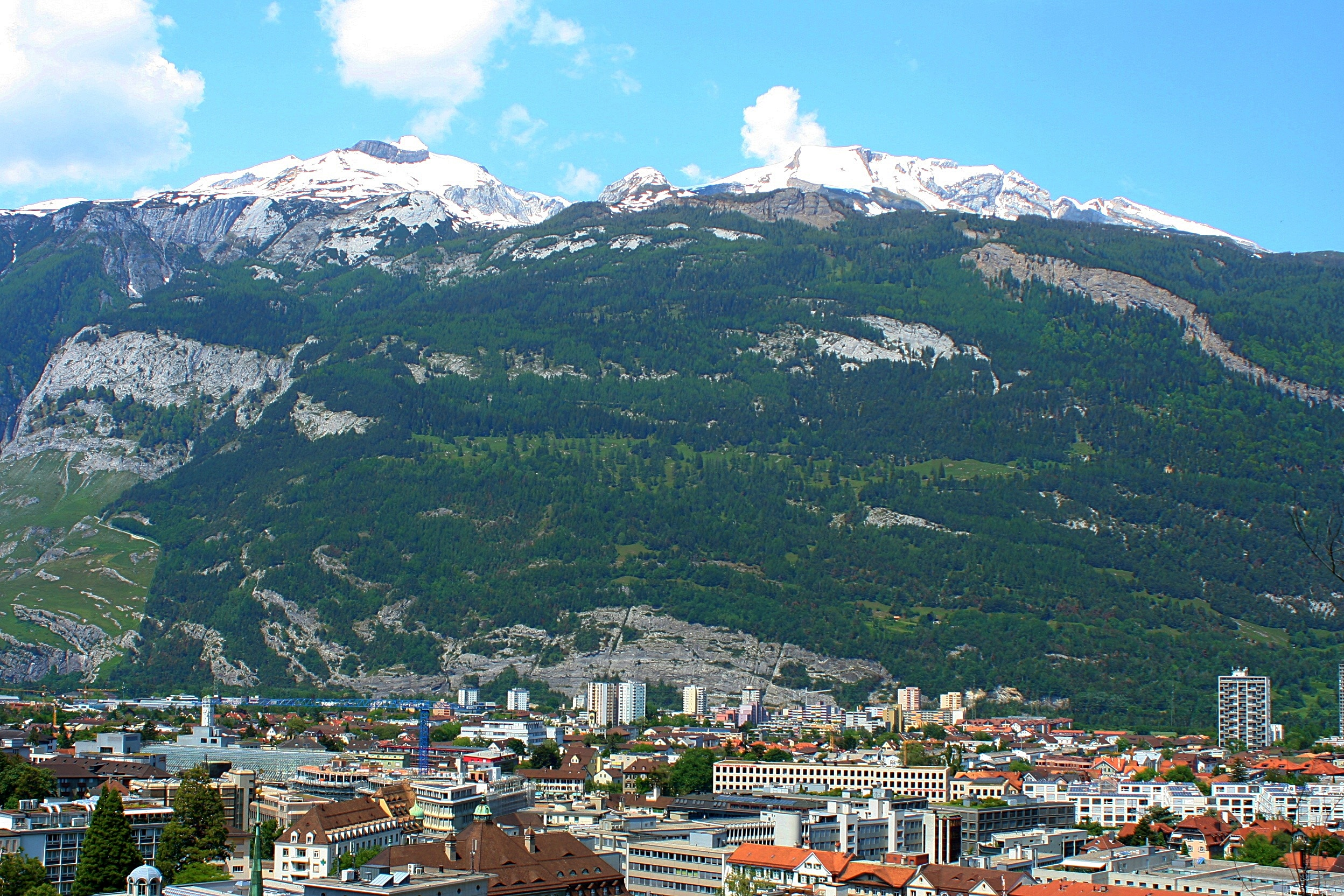 Chur - By far the largest and oldest alpine town in Switzerland