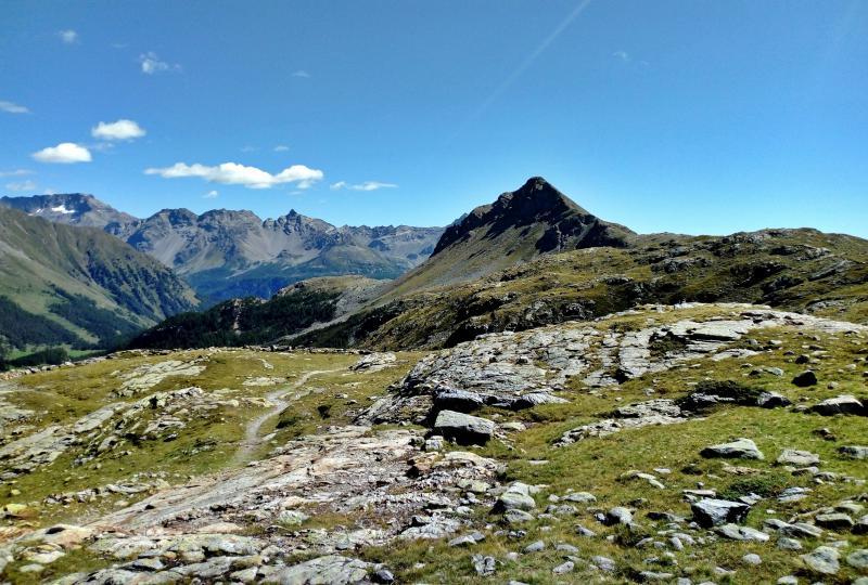 Wanderspass auf dem Berninapass