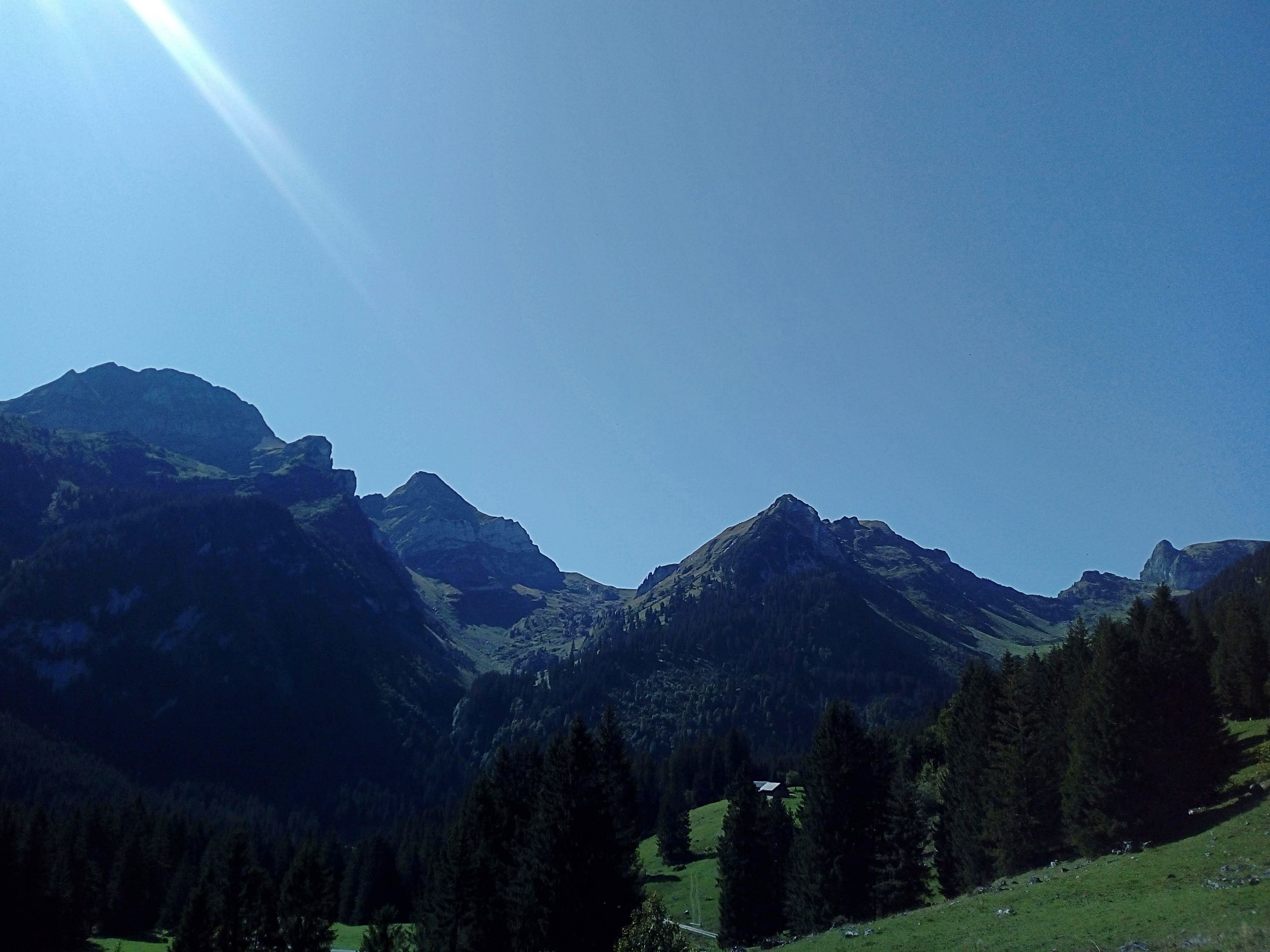 Von links - Gamsberg - Wissi Frauen - Alp Ober Stofel - Sichelchamm - Platten