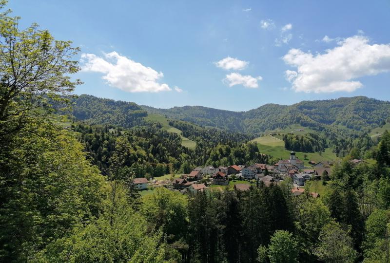 Libingen in der Ferienregion im Toggenburg