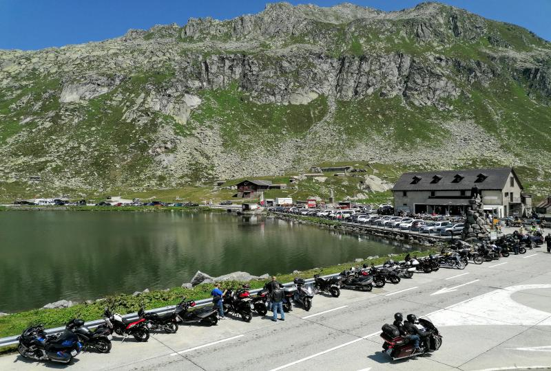 Motorrad-Treffpunkt St. Gotthard Hospiz