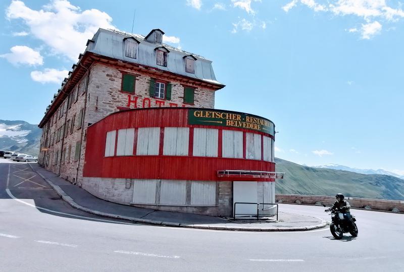 Wie ausgestorben: Hotel-Restaurant Belvédère am Furkapass