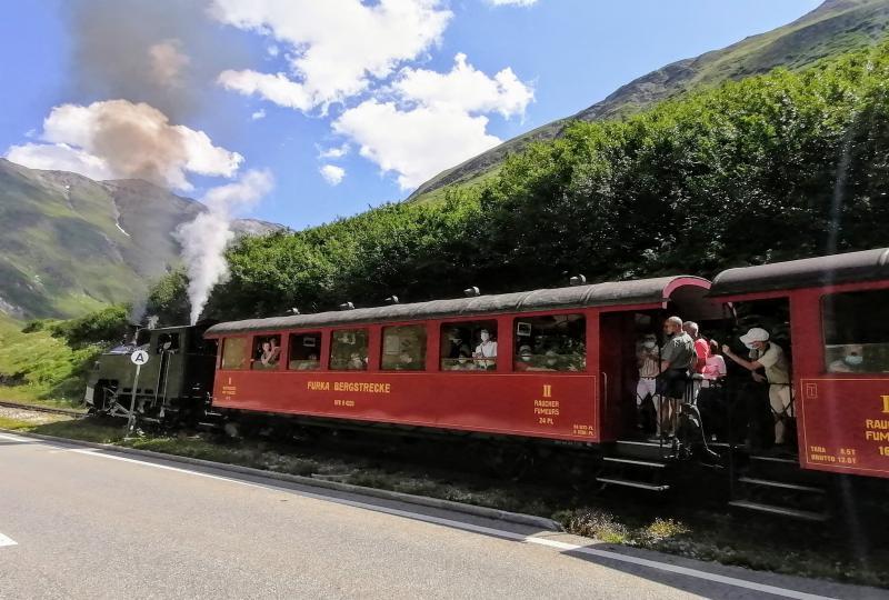 Die Dampfbahn der Furka-Bergstrecke