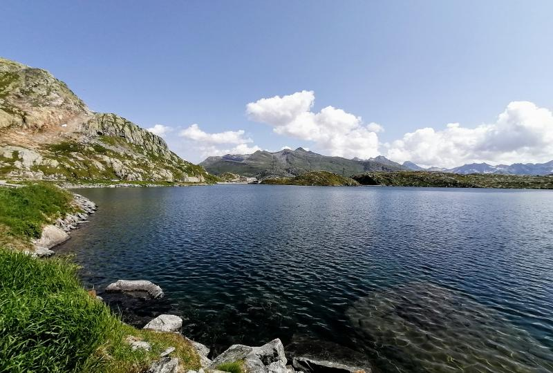 Grimsel-Passhöhe: Totensee