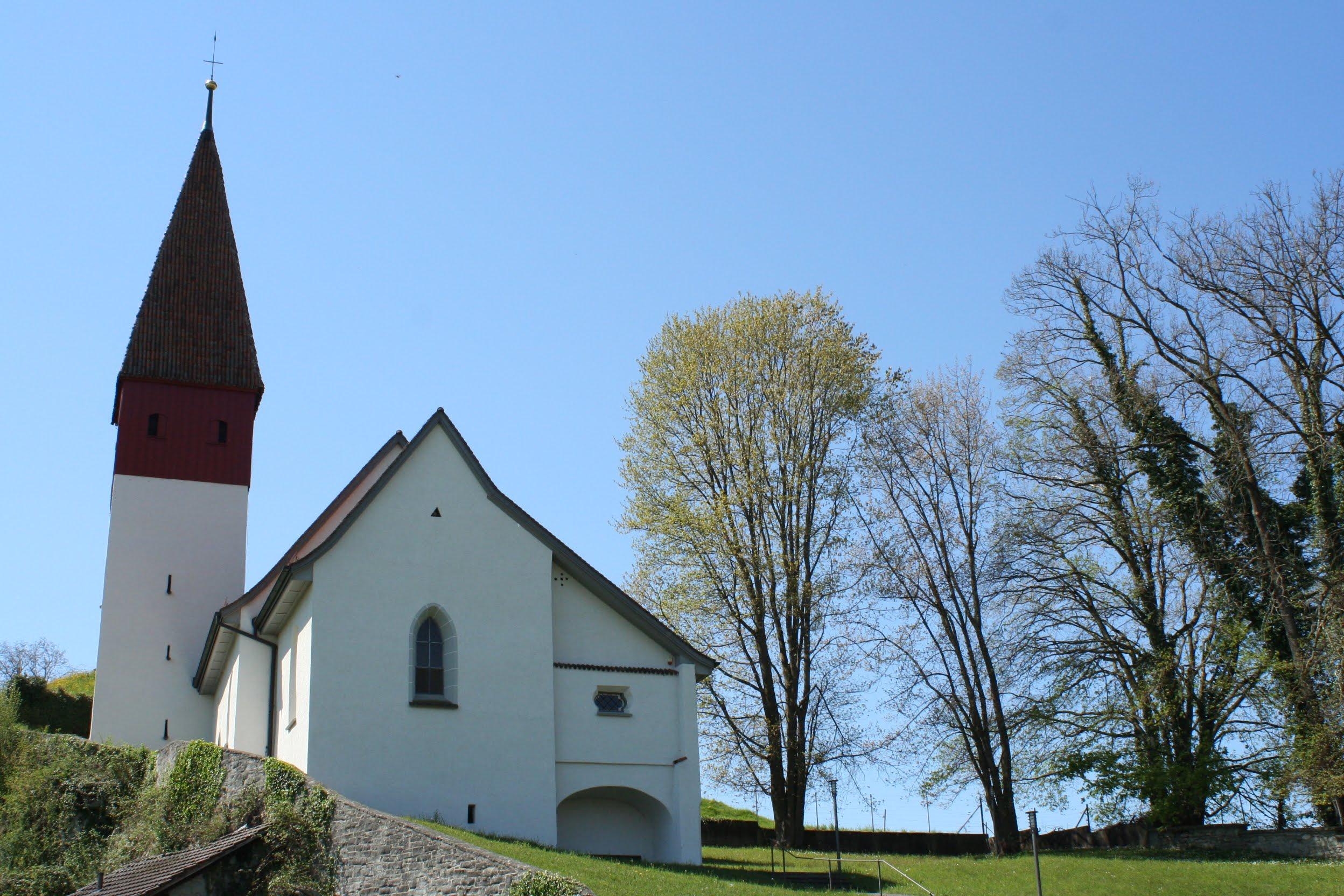 Alte Kirche St. Margrethen (vermutlich als Kapelle 1146 gebaut)