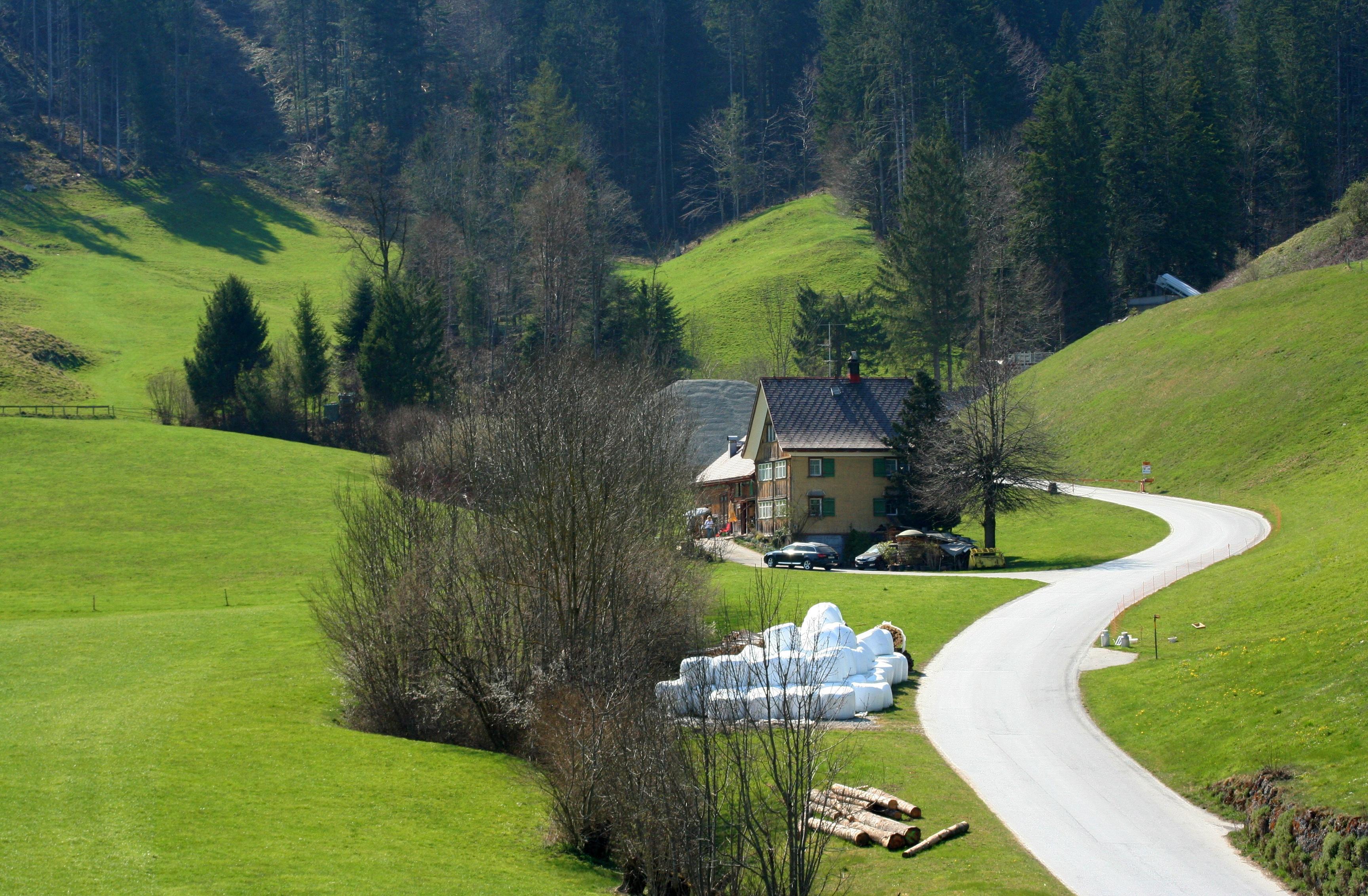 Farming lifestyle in Appenzell Innerrhoden