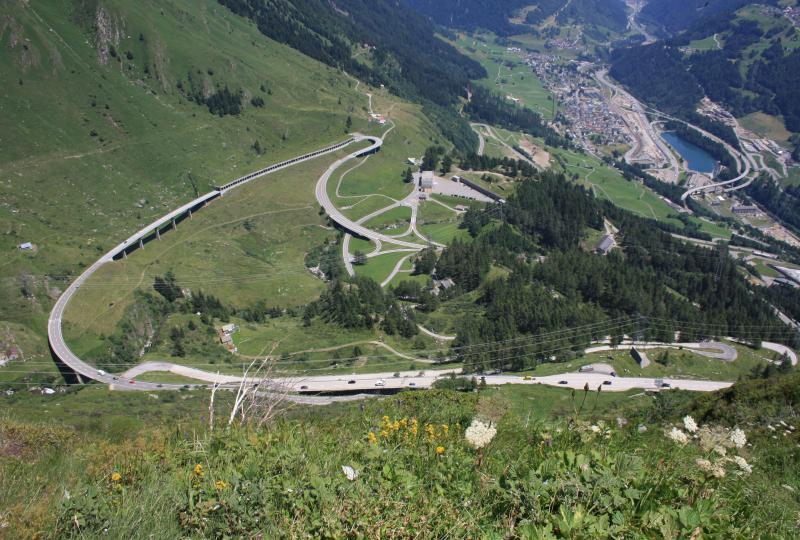 Gotthardpass (Airolo - Hospental)