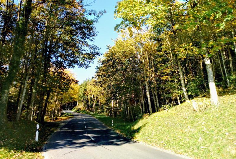 Play video: Oberriet (bergauf Richtung Appenzell)