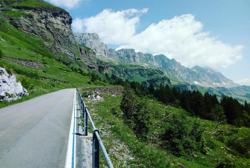 Klausenpass (von Linthal bergauf)