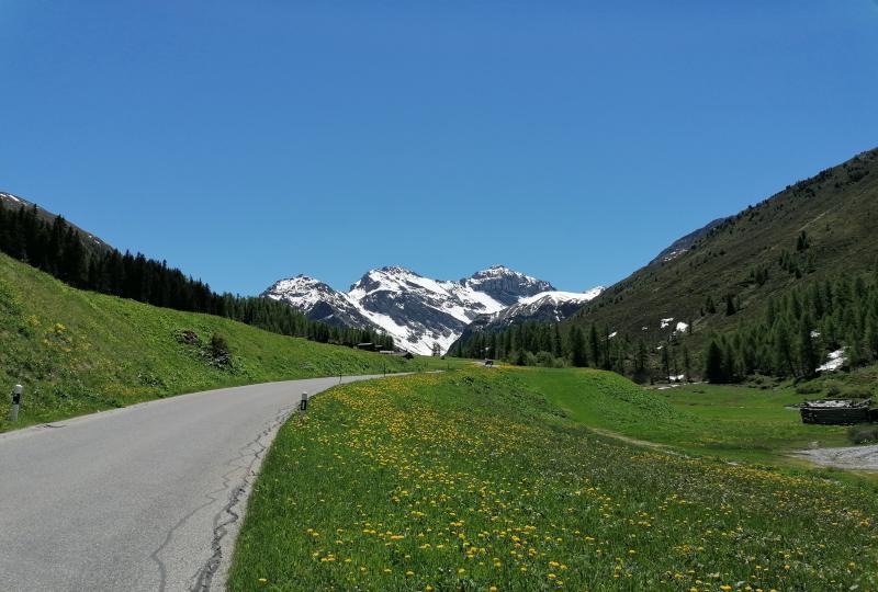 Sertigtal: Downhill to Frauenkirch near Davos