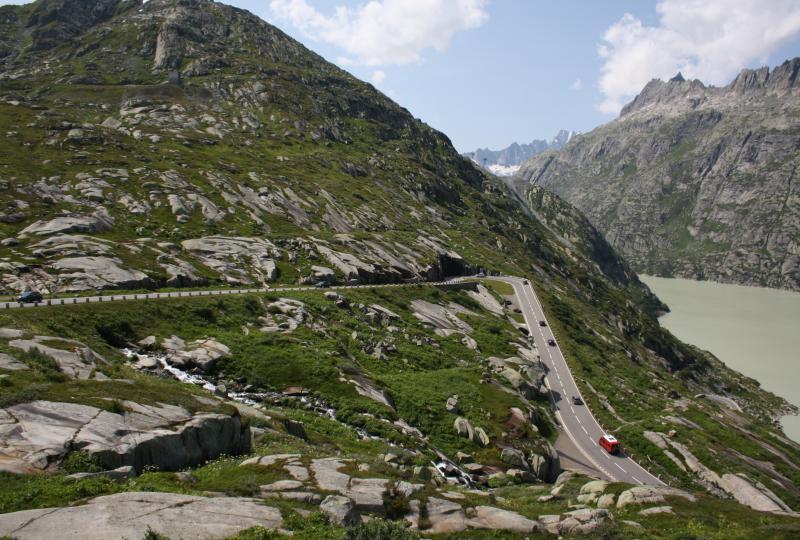 Guttannen - Grimselpass - Gletsch
