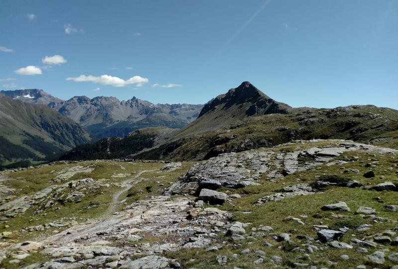 Berninapass (von La Rosa aufwärts)
